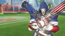 Reaper's new American skin shows off the old red, white, and blue.