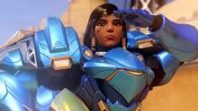 With flight and heavy damage rockets on her side, Pharah can definitely be OP.