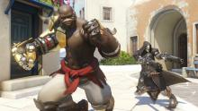 Doomfist's combo abilities can wipe enemies out quickly.