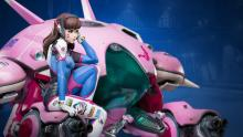 A quick, heavy-hitting tank, D.Va can be a great DPS.