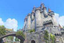 The magnificent tower in Eichenwalde.
