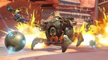 Overwatch Wrecking Ball Hammond