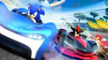 Race with your favorite Sonic characters in Team Sonic Racing