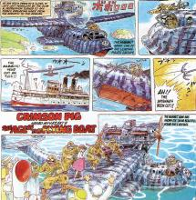 Miyazaki's love for planes in one book.