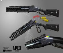 This is just a taste of some of the cool concept art that Respawn made for Apex's weapons.