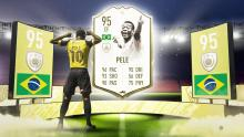 Pele is the ultimate Brazilian icon on FIFA 20. He is also the highest rated player on the game.