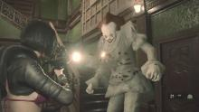 Swapping Mr X. for a killer clown is no laughing matter