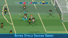 Pixel Cup has an old school feel.