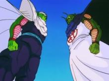 To face the unknown threat of the androids and the 'Monster of Ginger Town', Piccolo decides he needs to fuse with Kami. Though reluctant, Kami agrees, and they fuse together to become the original Nameless Namekian who first came to Earth many years ago.
