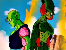 Piccolo had once managed to fight Cell to a standstill, but the latter has been 'juicing up' since then. As a result, Piccolo can't stand up to him anymore, and thus fails in his efforts to stop the absorption of Android 17.