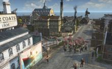 Workers picket outside when their workplace demands aren't met in Anno 1800
