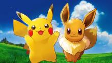 Pikachu and Eevee are two of the most popular Pokemon.