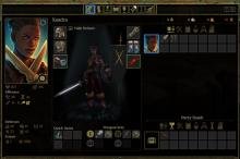 Inventory in Pillars of Eternity 2 lets the player dress and store items.