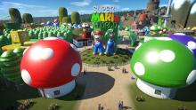 This park is inspired by the Mario franchinse, and uses characters for these Nintendo games