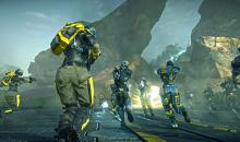 Join up with a faction in Planetside 2, and help your newfound allies conquer the map!