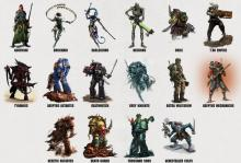 There's 16 to choose from in Warhammer 40K Kill Team.