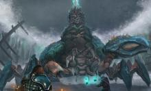 A Marauder fighting the Brine King and Nessa.