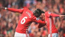 Manchester United's Paul Pogba is the king of the dab celebration.