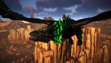 This image proves that the Wyvern is just as majestic as it is threatening.