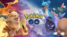Pokemon from the Fire and Ice event in June 2017.