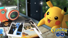 Take staged photos of your Pokemon on Pokemon Go for memorable keepsakes.