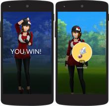 Sometimes winning or losing trainer battles will only yield stardust, but if you're lucky you'll receive rare items!