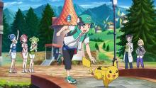 Pokemon Masters cutscenes make you feel like you're in an episode of the Pokemon anime, when you're not battling or recruiting teammates!