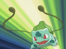 Vine Whip is one of Ivysaur's powerful and fast attacks.