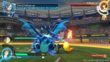 Charizard's only dragon-type form makes an epic comeback in Pokken Tournament DX!