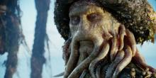 Disney really did good on the CGI part for this character, with the squid aspect looking great!