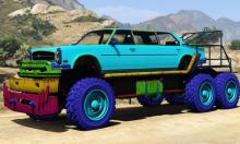 Customize not only the weapons, but also make your vehicle stand out with new colors!