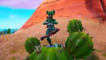 The Prickly Patroller mirrors the stance of her inspiration, the cactus.