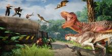 You can play as dinos or humans in this online multiplayer.