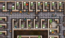 Rows of cells keep the inmates locked up tight