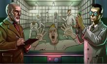 A promotional image of a version of Prison Architect.