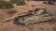 At the half way point we got a medium tank with an autoreloader gun.