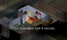 Zombies finally ending a player's life. You don' want to meet the same fate.