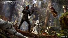 The Ewoks defend their home from the Empire