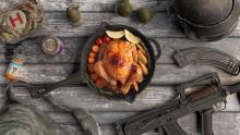 Chicken Dinner, AR, Groza