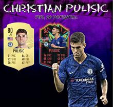 Pulisic is in great form for Chelsea earning multiple upgrades on FIFA 20.