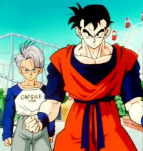 At one time, a version of Trunks had to deal with an android apocalypse that killed almost all of the Dragon Gang. One of the few left alive after the initial fallout was Gohan, who grew up to become Trunks' martial arts teacher and mentor. He and Trunks eventually led a renewed charge against Androids 17 and 18, but it ended in tragedy with Trunks witnessing Gohan's death.