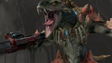 Sorlag is one of the gloriously monstrous characters in Quake Champions.