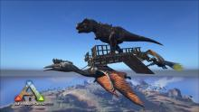 The quetzal is useful for transporting large dinosaurs over long distances and for using turrets and structures against players.