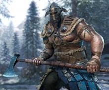 A close-up of a Viking Raider
