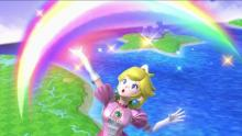 It seems like Peach is always happy. Especially when she's KOing opponents