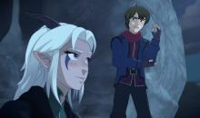 Will Magical Creatures and humans ever get along? These two might start the example. Figure out how these two races learn to coexist in Dragon Prince.