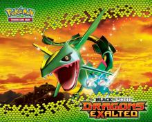 Rayquaza from the Pokémon TCG: Black & White - Dragons Exalted expansion.