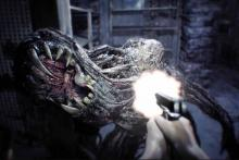 The disease in Resident Evil 7 sure does look terrible. Can a simple gun really stop that thing?