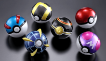 There are so many Pokeballs out there and these ones look really cool.