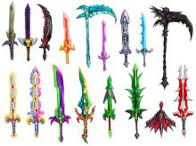 Legendary Weapons look cooler when drawn out life-like
